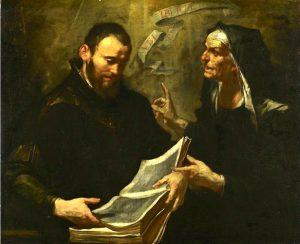 Santa Monica, rezou décadas pela conversão de Santo Agostinho, seu filho.