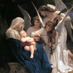 William Adolphe Bouguereau - A Canção dos Anjos (1881)