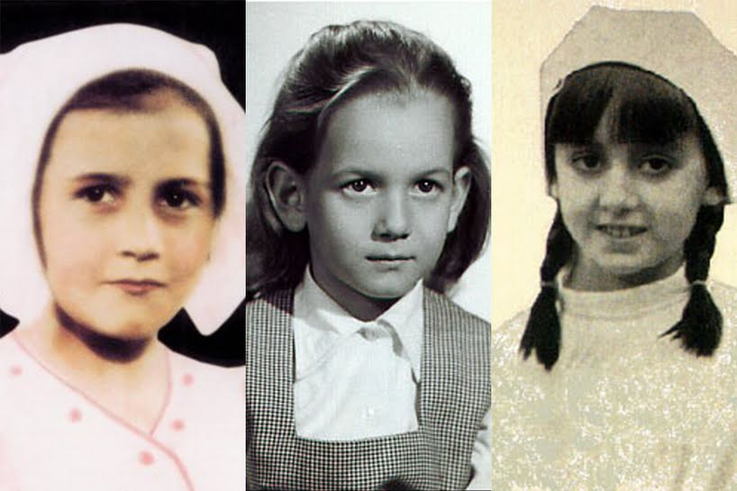 Da direita para a esquerda: Veneráveis Mari Carmen González Valerio, María del Pilar Cimadevilla y López Dóriga e Aléxia González-Barros