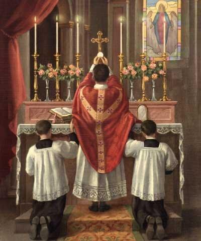 A Palavra de um homem, um sacerdote, é capaz de fazer descer do Céu o Filho de Deus, vivo, inteiro e imortal...