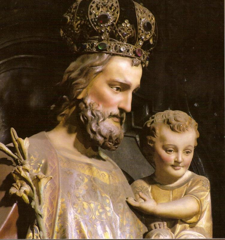 São José é Padroeiro da Igreja Universal, dos operários, das famílias e da boa morte;