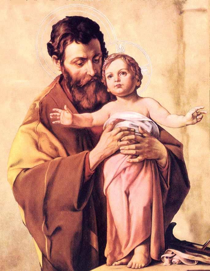 """São José é """"o pai do rei"""", do soberano Rei, do Rei dos reis."""