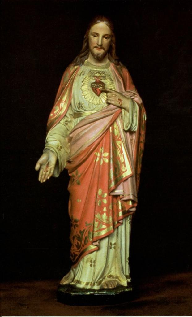 Imagem do Sagrado Coração de Jesus que pertenceu a Dona Lucília Corrêa de Oliveira, virtuosíssima mãe do Dr. Plínio Correa de Oliveira.