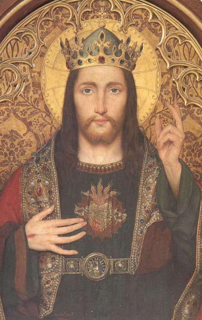 Ícone do Sagrado Coração de Jesus.