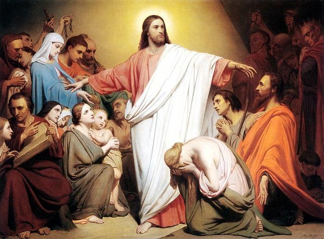 Nosso Senhor convida para a Oração