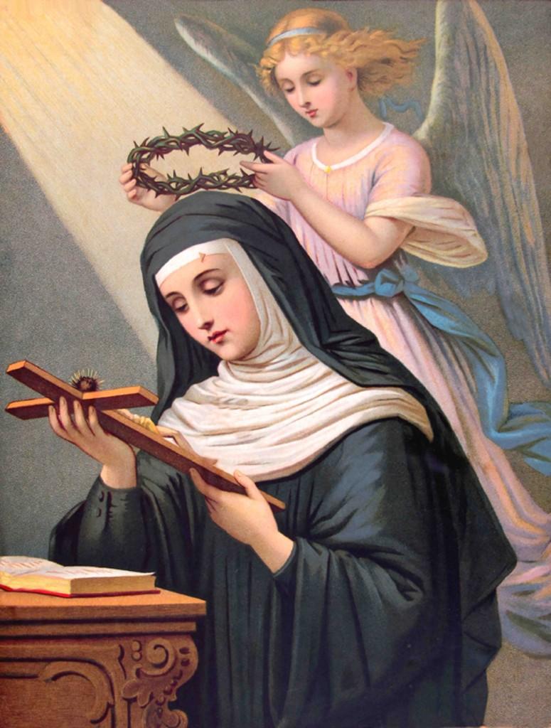 Santa Rita de Cássia, padroeira das Causas Impossíveis.