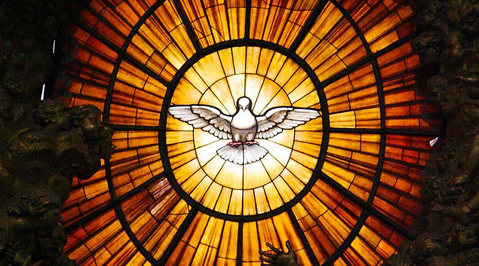 """""""É o Espírito Santo que forma os pensamentos no coração dos justos e lhes gera as palavras na boca..."""""""