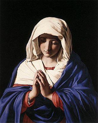 Jamais houve e jamais haverá criatura mais humilde que a Santíssima Virgem Maria.