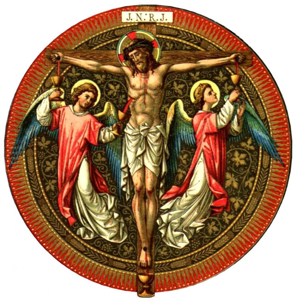 Nosso Senhor Jesus Cristo no lenho da Santa Cruz.
