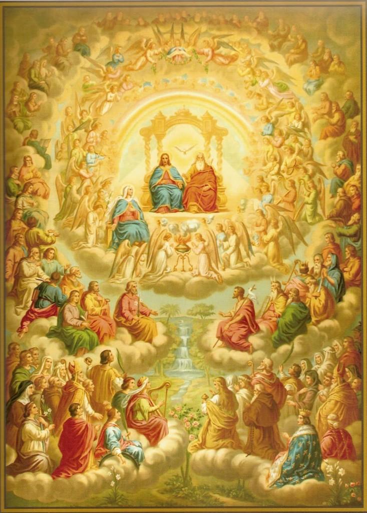 Todos os Santos e Santas de Deus.