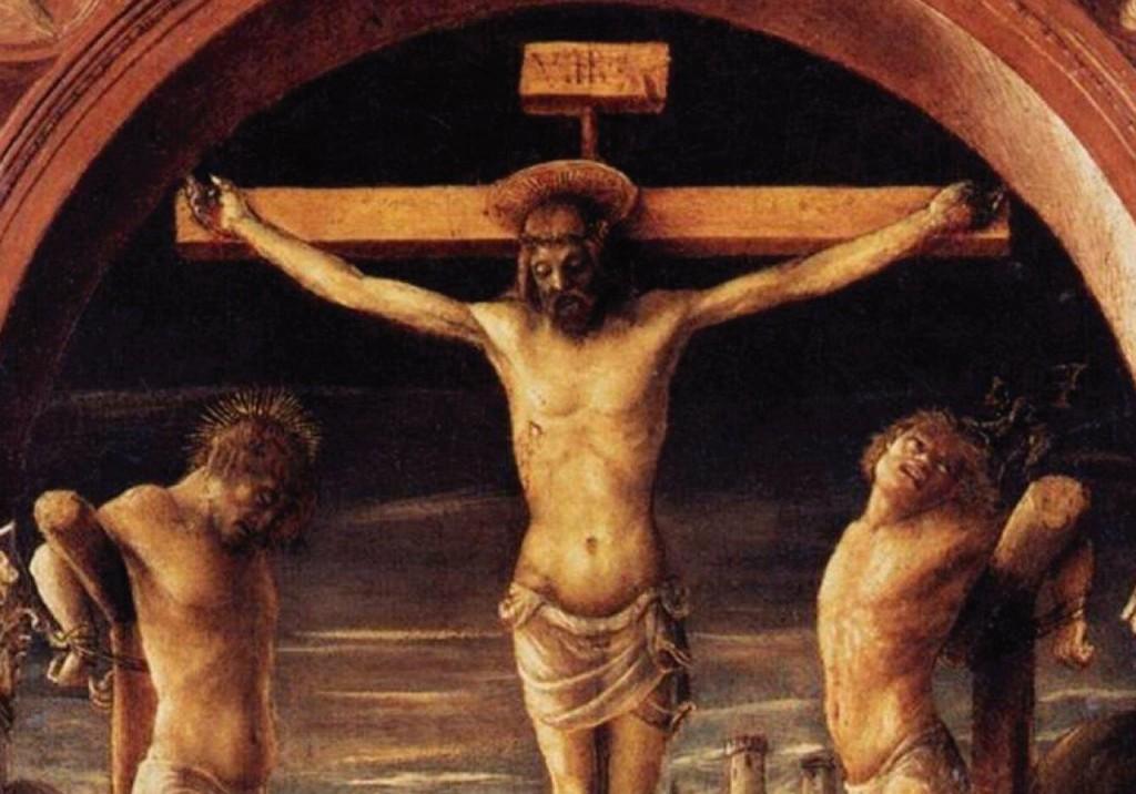 Nosso Senhor perdoa o bom ladrão e nos mostra que concede o perdão a todos aqueles que estão verdadeiramente arrependidos de seus pecados.