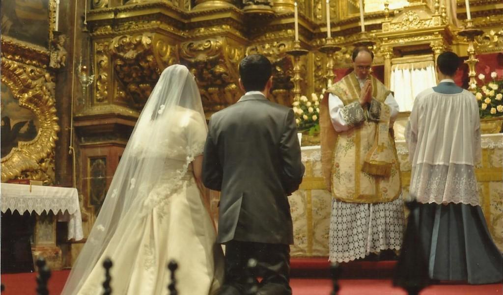 Casamento dentro da Santa Missa