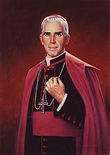 Arcebispo Fulton Sheen.