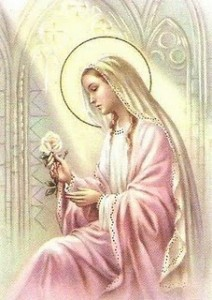 Nossa Senhora, mãe da Pureza.