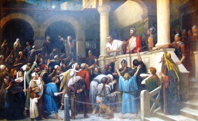 Apresentação de Nosso Senhor aos Judeus.