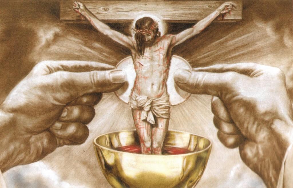Nosso Senhor está presente na Santíssima Eucaristia