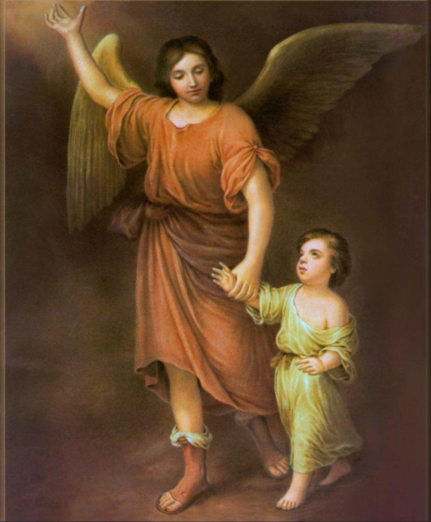 Proteção do anjo contra o mal dos demônios