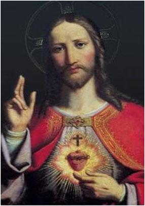 Peçamos a intercessão do Sagrado Coração