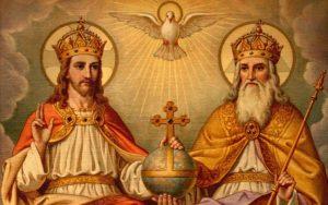 Santíssima Trindade, Pai, Filho e Espírito Santo.