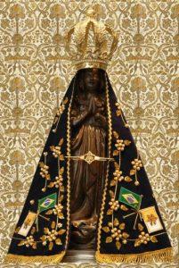 Nossa Senhora Aparecida, Rainha e padroeira do Brasil!