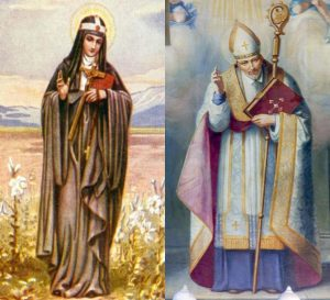 Santa Brigida e Santo Afonso do Ligório