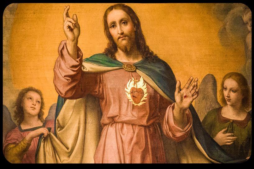 Resultado de imagem para Como foi a visão de Jesus contada por santa gertrudes