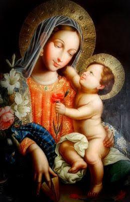 Nossa Senhora e o Menino Jesus
