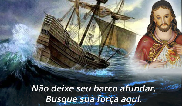 Não deixe o barco afundar