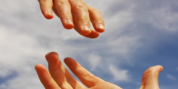 mãos do céu