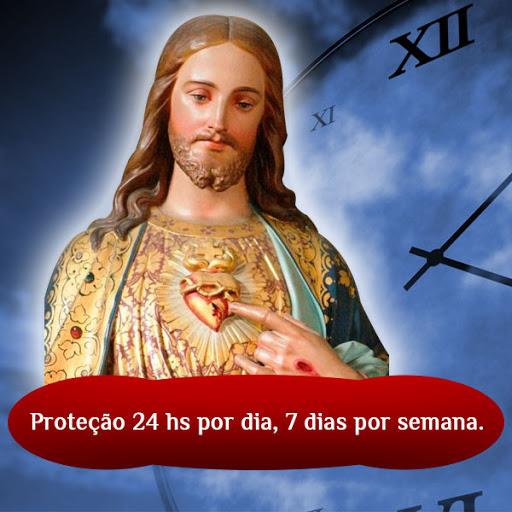 sagrado coração de jesus, proteção 24 hs