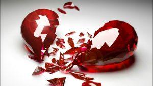 Somente os coração quebrados não amam!