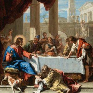 jesus com a mesa dos pecadores