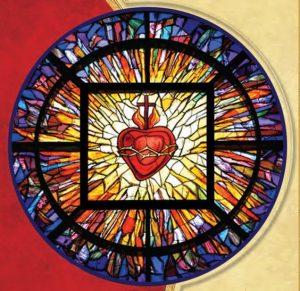 Vitral Coração Jesus