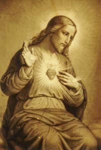 Coração de Jesus, símbolo do Amor de Deus.