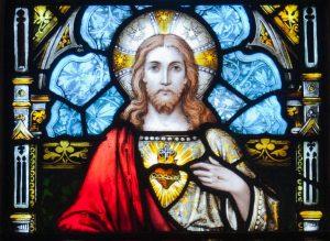 Coração de Jesus vitra