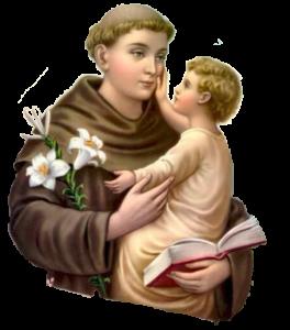 Santo Antonio e o Menino Jesus