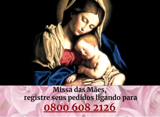 Botão Missa das Mães ASC