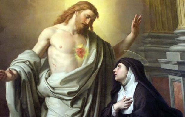 Santa Margarida Maria Alacoque - Imagem Destacada 1