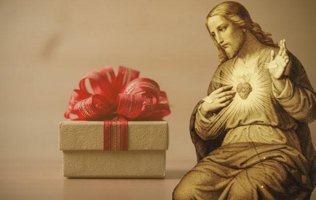 Caixa de Presente - Jesus