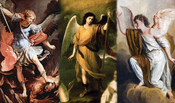 Os Três Arcanjos de Deus - Miguel, Rafael e Gabriel