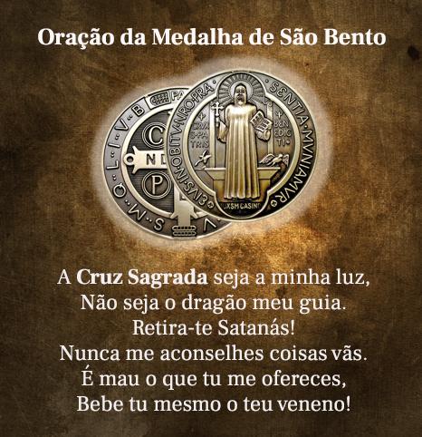 Oração a Medalha de São Bento