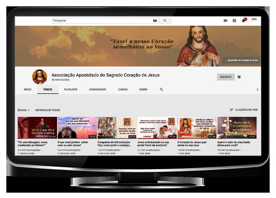 Sagrado Coração de Jesus - Youtube