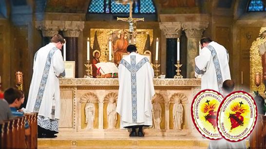 Missa e Escudo do Sagrado Coração de Jesus