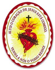 Escudo do Sagrado Coração de Jesus no texto A luta de Deus e do demônio na crise do coronavírus