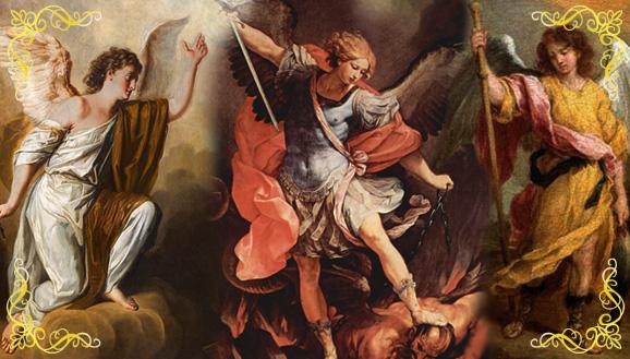 Arcanjos de Deus: Gabriel, Miguel e Rafael no texto MISSA DA SEMANA: Pela intercessão dos Santos Arcanjos de Deus
