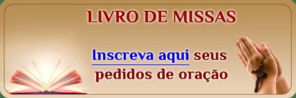 Botão do Livro de Missas no texto Novena a Santa Rita de Cássia – 5º Dia