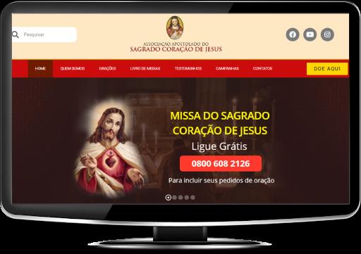 O Site do Sagrado Coração de Jesus mudou! Confira.