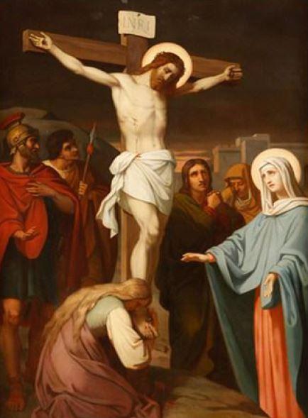 Via Sacra: 12ª Estação – Jesus morre na cruz