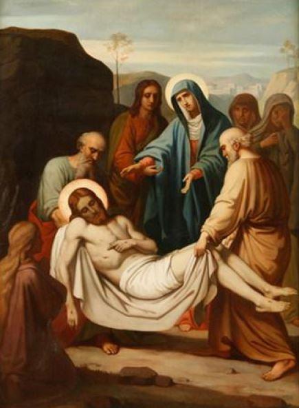 Via Sacra: 14ª Estação – Jesus é sepultado