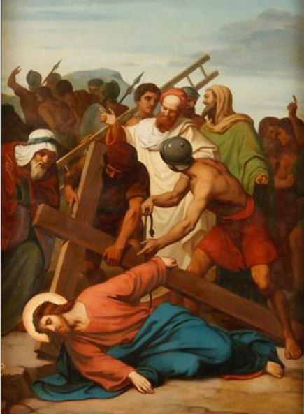 Via Sacra: 9ª Estação – Jesus cai pela terceira vez